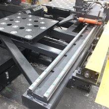 Máquina para fazer furo de chapa de aço