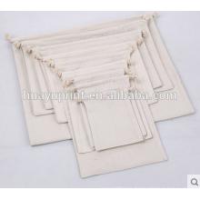 Baumwoll-Segeltuch, kundenspezifische Beutel, Drawstring-Aufbewahrungsbeutel, Baumwoll-Drawstring-Taschen, Aufbewahrungsbeutel in verschiedenen Größen