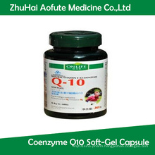 Natural Vitamin E Coenzyme Q10 Soft-Gel Capsule