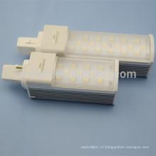2014 популярный светодиодный фонарь кукурузы выше 1000 лм прохладный и теплый белый 11w g24 led pl свет замены 26w cfl