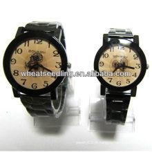 Conjunto de relógio de casal com design de bicicleta para os amantes JW-42