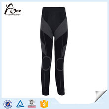 Leggings de fitness sexo feminino Long Johns sem costura