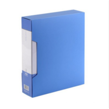 One Stop Shopping Office Supplies plastic A4 Clear Book file document storage organizer pocket 100 pages