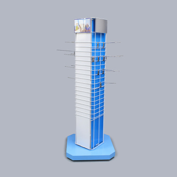 Aangepaste Floor Metal Hat Display Stand