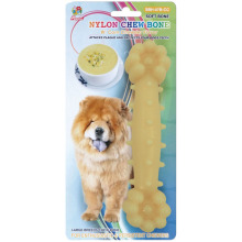 "Percell 7.5 ""Nylon Dog Chew Bone Corn Chowder Doft"