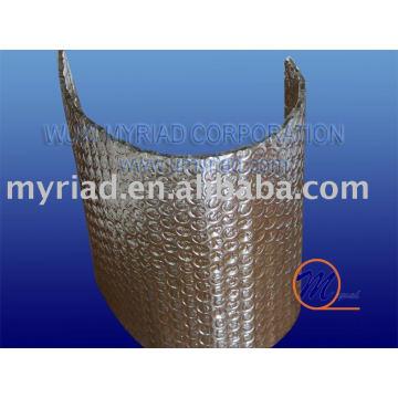 Aluminiumfolie Luftblase
