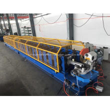 Steel downpipe roll forming machine production line