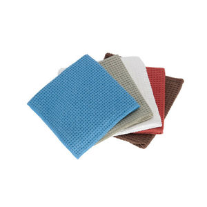 Customized  Microfiber Waffle Towel Pocket