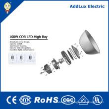 Lampe industrielle élevée de baie de l'ÉPI LED de la CE UL IP65 100W