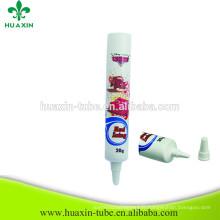 Nouveaux produits Crème pour le corps Cosmetic Tube Long Nozzle