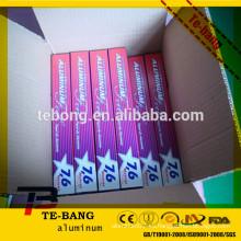 Aspirador de papel de aluminio de aluminio de adsorción para importadores de aluminio