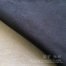 Compound Fleece Foil Stamping Polyester Suede Fabrics for Home