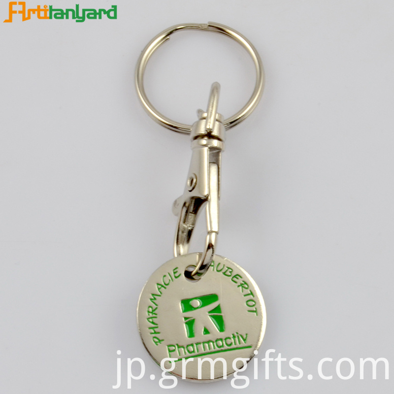 Iron Trolley Keychain