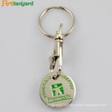 Iron Trolley Keychain With Soft Enamel