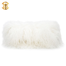 Factory wholesale customized size and color mongolian real fur clutch bags