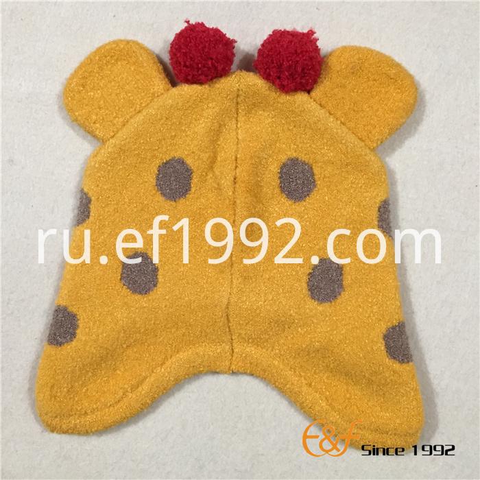 kids elastic knitted hat