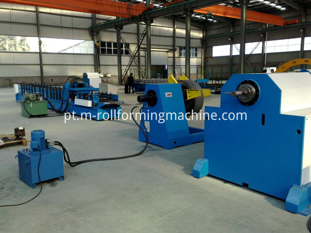 C Z purline roll forming machine 1