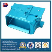 Anodisierte Hardware-Komponenten der Metallaluminiumteile CNC-Präzisionsbearbeitung