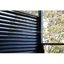 Fenêtres non-corrosives en aluminium à grès extrudé