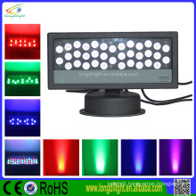 high quality rgb dmx led wall washer /36*1w IP65 waterproof wall washer light