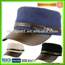 plain fashion accessories military style cap Shenzhen MC-1293