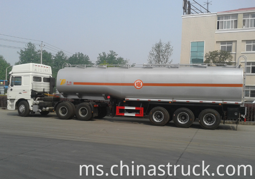 40m3 fuel tanker semi-trailer