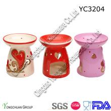 Sujetador de vela de cerámica para la boda