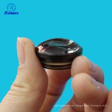 Diámetro 6 mm 12.7 mm 25.4 mm Positivo Achromatic Doublet lente