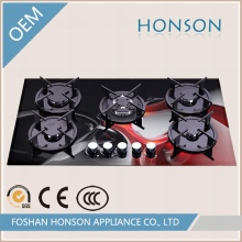 Wholesale Luxury High Quality Glass Top Gas Range Hob