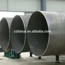China direto da fábrica de aço de qualidade superior de aço erw tubo de aço