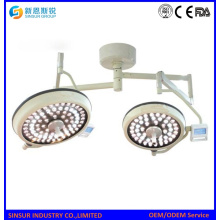 Surgical Equipment LED Double Head Ceiling Shadowless Operating Lamp