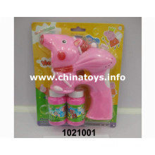2016 Hot Selling Plastic Toys, Summer Toys, Bubble Gun (1021001)