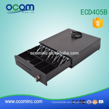 ECD405B Electronic POS Cash Drawer RJ11 5 titulares de facturas ajustables y 4 monederos