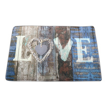 Washable love design doormat