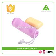 Wholesales NO WASTE HOT SALE Shower Soap Saver Bag Mesh Soap Bag