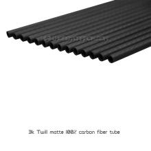 Hobbycarbon tubo de fibra de carbono / poste / tubería / tubería