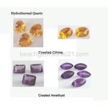 Gema sintética - quartzo Hyndrothermal