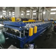Perfis de piso de metal de alumínio perfilam máquina de prensagem