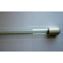 Clear 9W 18W LED tube avec corps en verre
