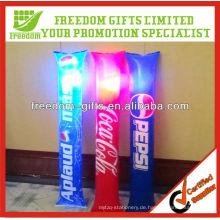 Fashional Art blinkender LED-aufblasbarer Knall-Knall-Stock