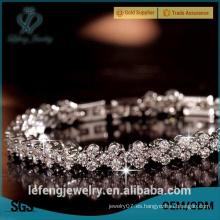 Nueva pulsera cristalina de la boda de la pulsera de la manera para las mujeres