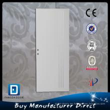 Israel decorativos tiras de aluminio puerta de acero