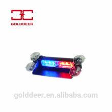 Emergencia coche parabrisas guión luz LED estroboscópica