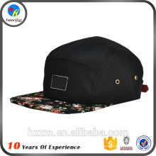 Haute qualité Custom Wholesale 5 Panel Hat Style
