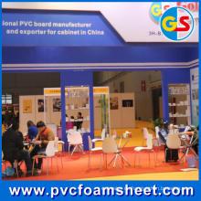 Hoja de espuma de PVC blanco puro (tamaño caliente: 1.22m * 2.44m)