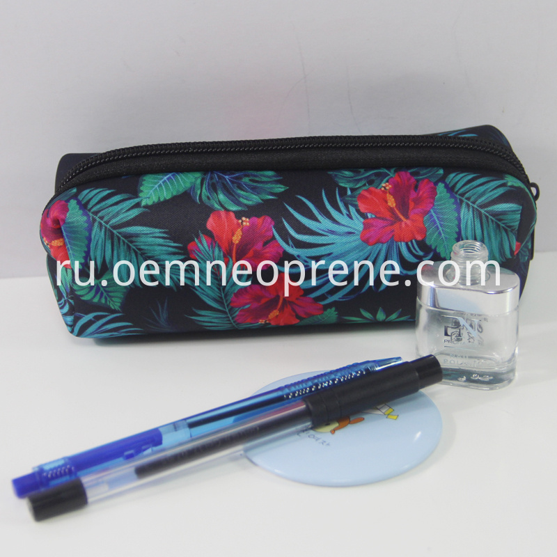 neoprene pencil bag