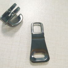 Zinc Alloy Metal Black Slider for Zipper