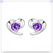 Accessoires de mode Boucles d'oreille en cristal 925 bijoux en argent sterling (SE045)