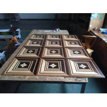 Best DIY Art Finish Waterproof Engineered /Parquet Wood Flooring