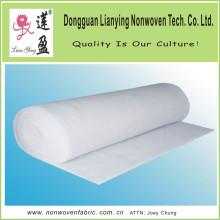 100% polyester à aiguilles perforé feutre blanc